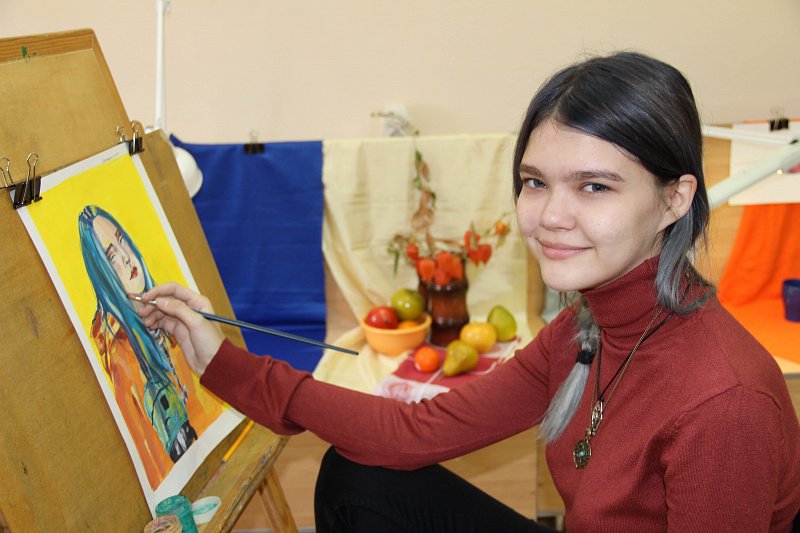 Удивительный мир юной художницы Яны Карташовой